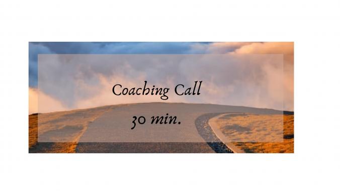 Coaching Call 30 min
